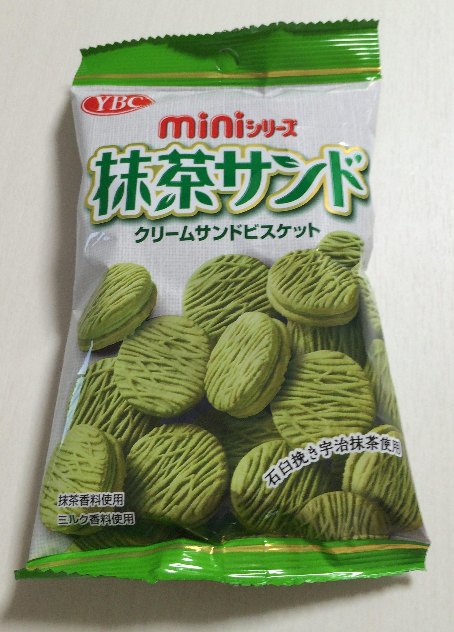 【ヤマザキビスケット】抹茶サンドミニ 食べた感想