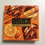 【ロッテ】ほろにがオレンジのショコランタン 食べてみました